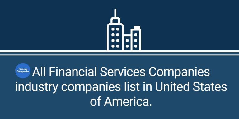 All Financial Services Companies industry companies list in United States of America.