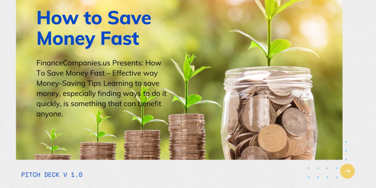Easy Tips on How to Save Money Fast, Simple Ways to Save Money Fast, how to save up money fast, How To Save Money Fast