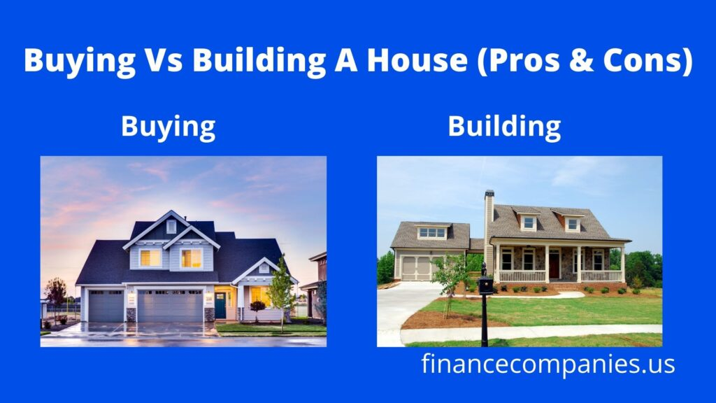 Buying Vs Building A House (Pros & Cons)