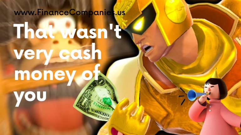 That wasn't very cash money of you, that's not very cash money of you