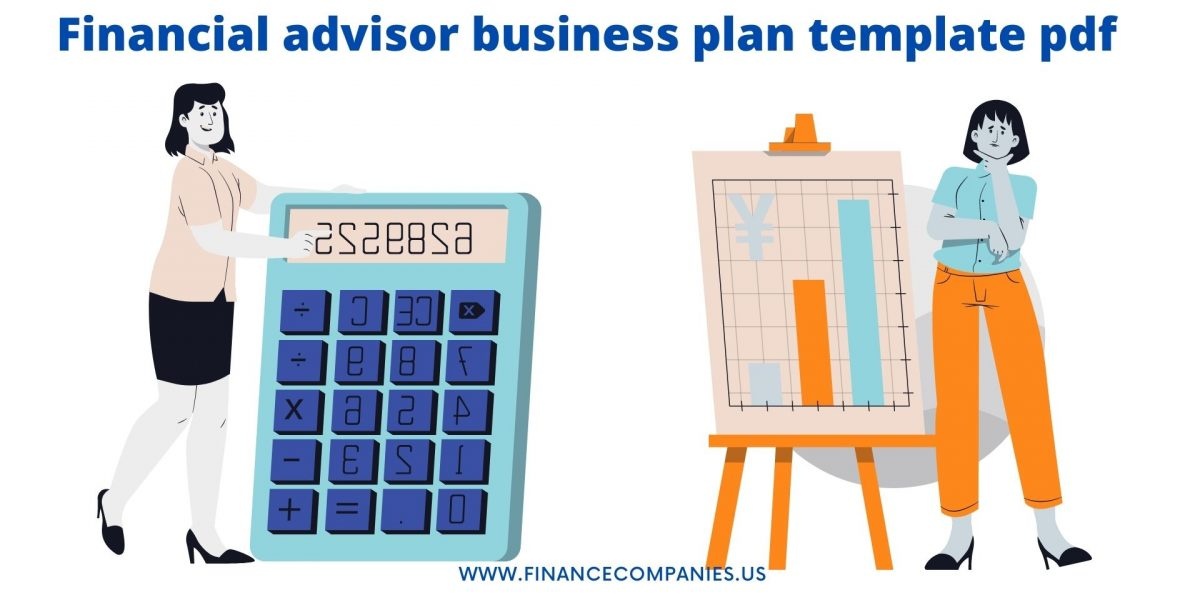 Financial advisor business plan pdf