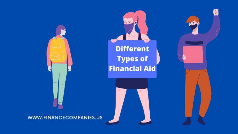 Different types of financial aid