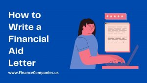 How to write a financial aid letter