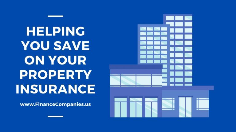 Helping You Save on Your Property Insurance